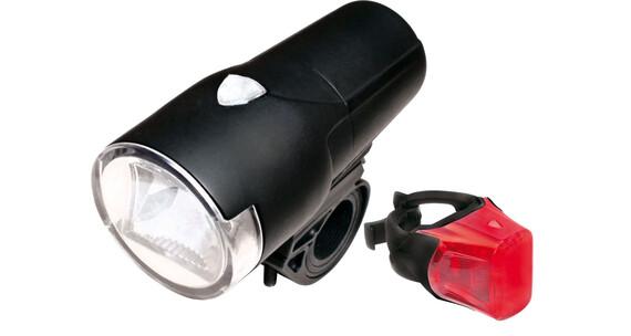 Dura Nova Vegas F30/ Vegas R II RSL fietsverlichting rood/zwart